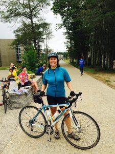 Erika Niedowski After Riding a Century